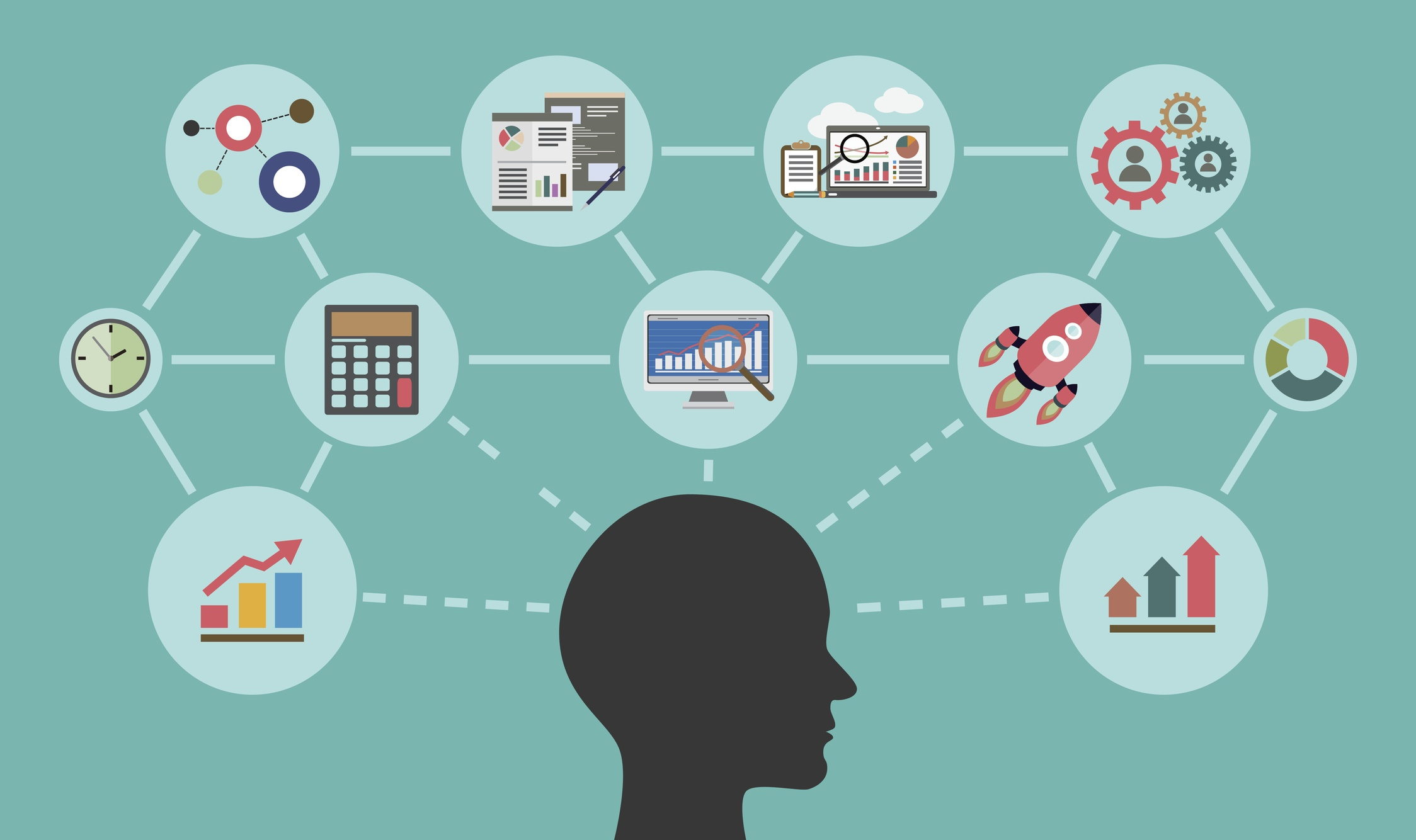 Essential marketing skills needed for a marketing company